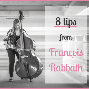 8 Tips from François Rabbath