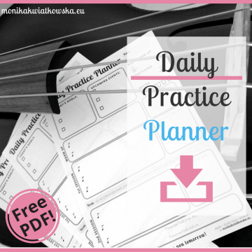 Daily Practice Planner!