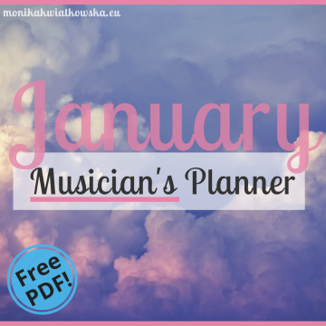 January | Musician's Planner 2018