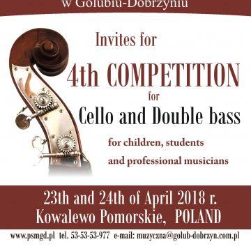 Konkurs wiolonczelowo-kontrabasowy