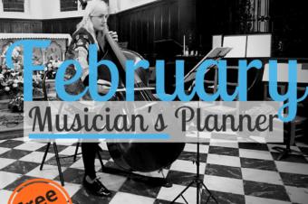 February | Musician's Planner 2018