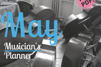 May | Musician's Planner 2018