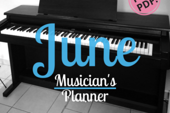 June | Musician's Planner 2018